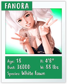 fanora mythic manor character card